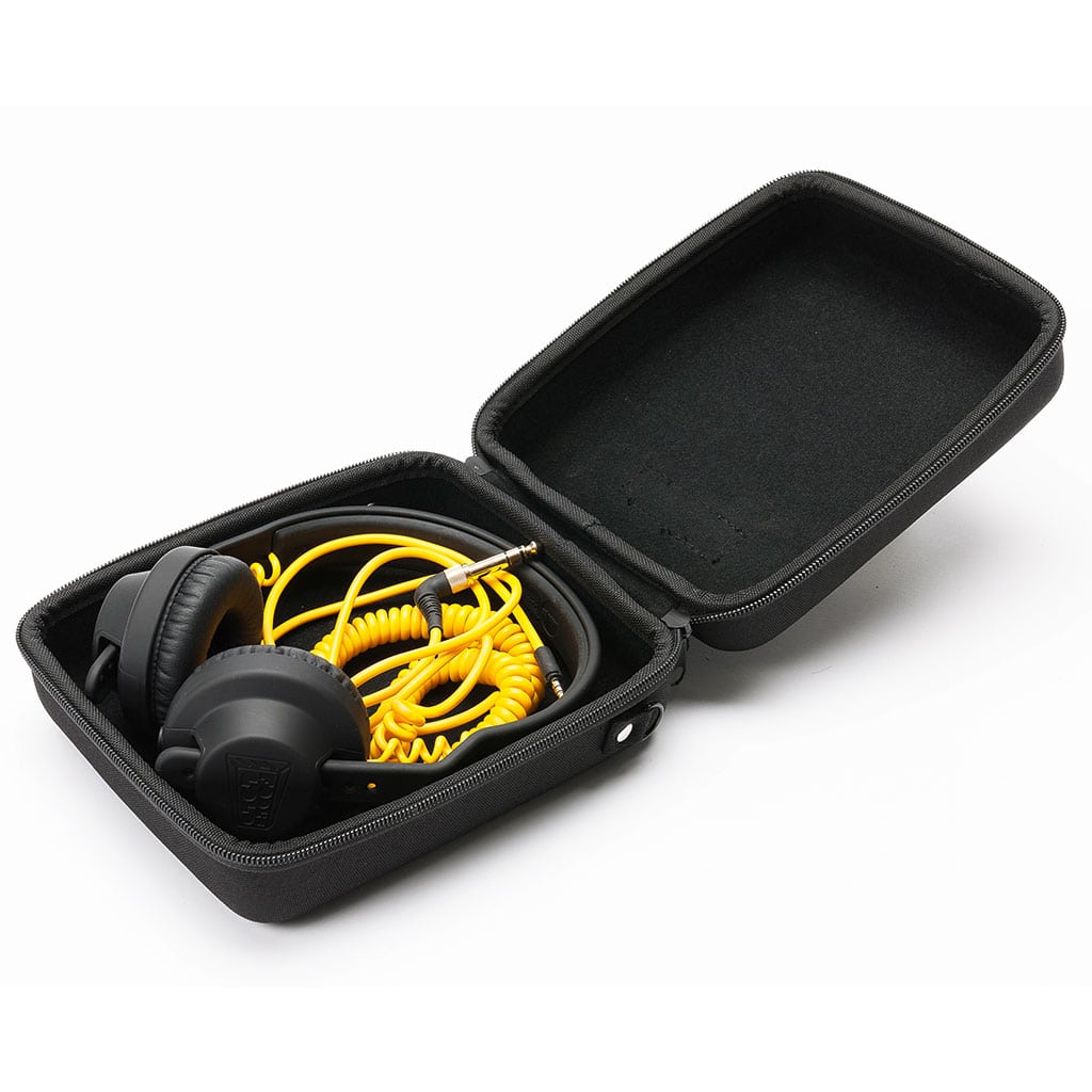 Magma Headphone Case Open Angled Headphones