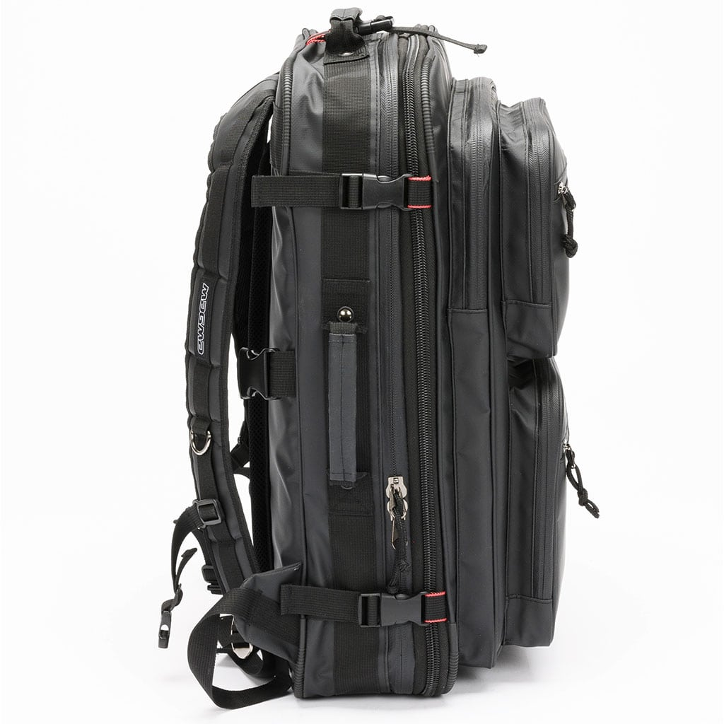 Magma RIOT DJ XL Backpack Closed Side