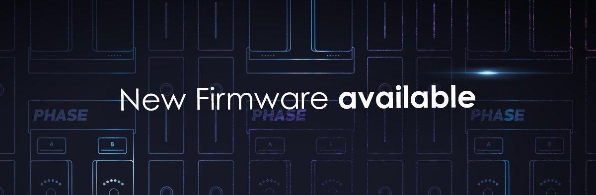Phase Firmware Update Available Banner