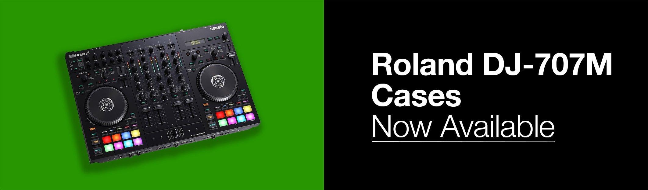 Roland DJ-707M Cases