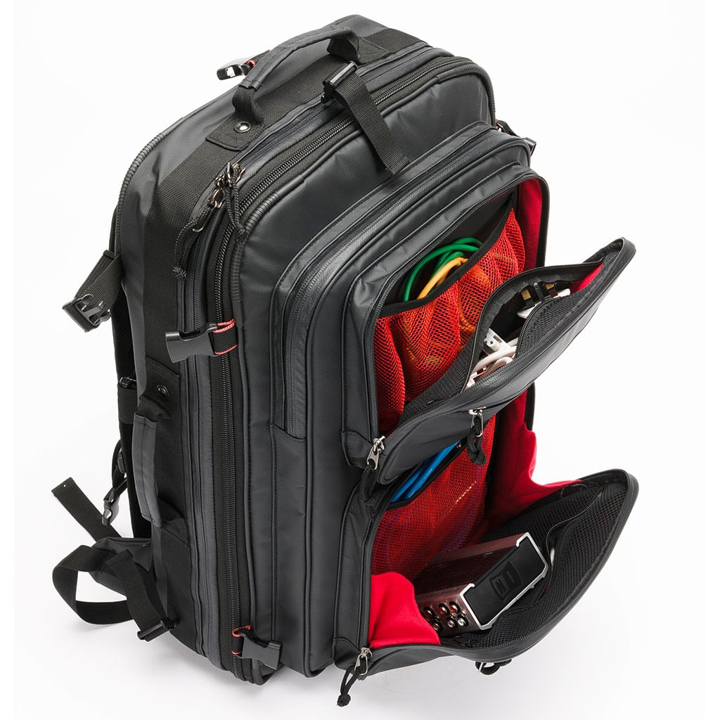 Magma RIOT DJ XL Backpack Open Angled Front Pockets