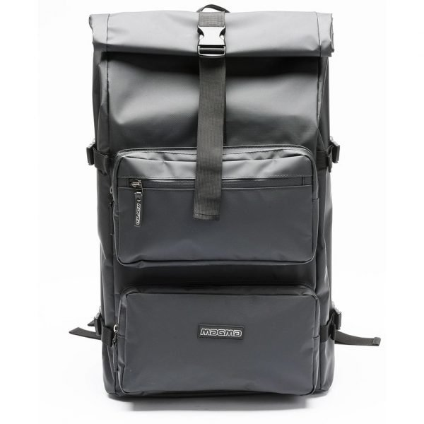 Magma Rolltop Backpack 2 Closed Front