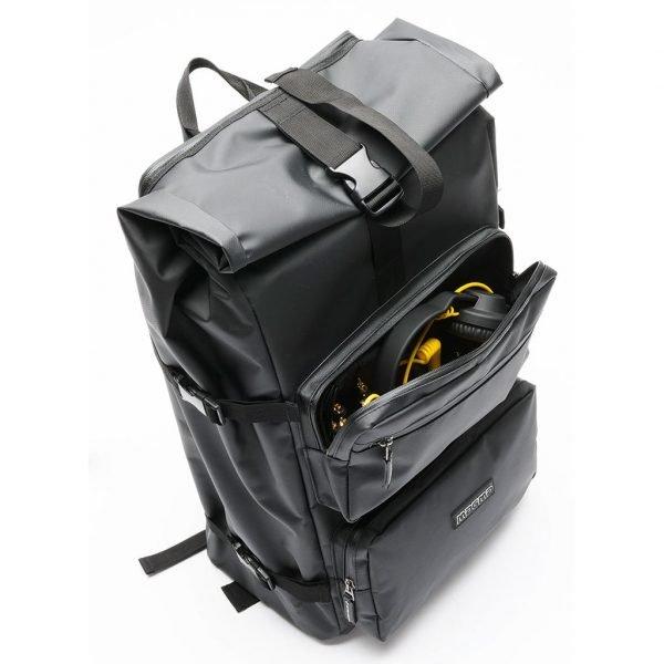 Magma Rolltop Backpack Front Pocket
