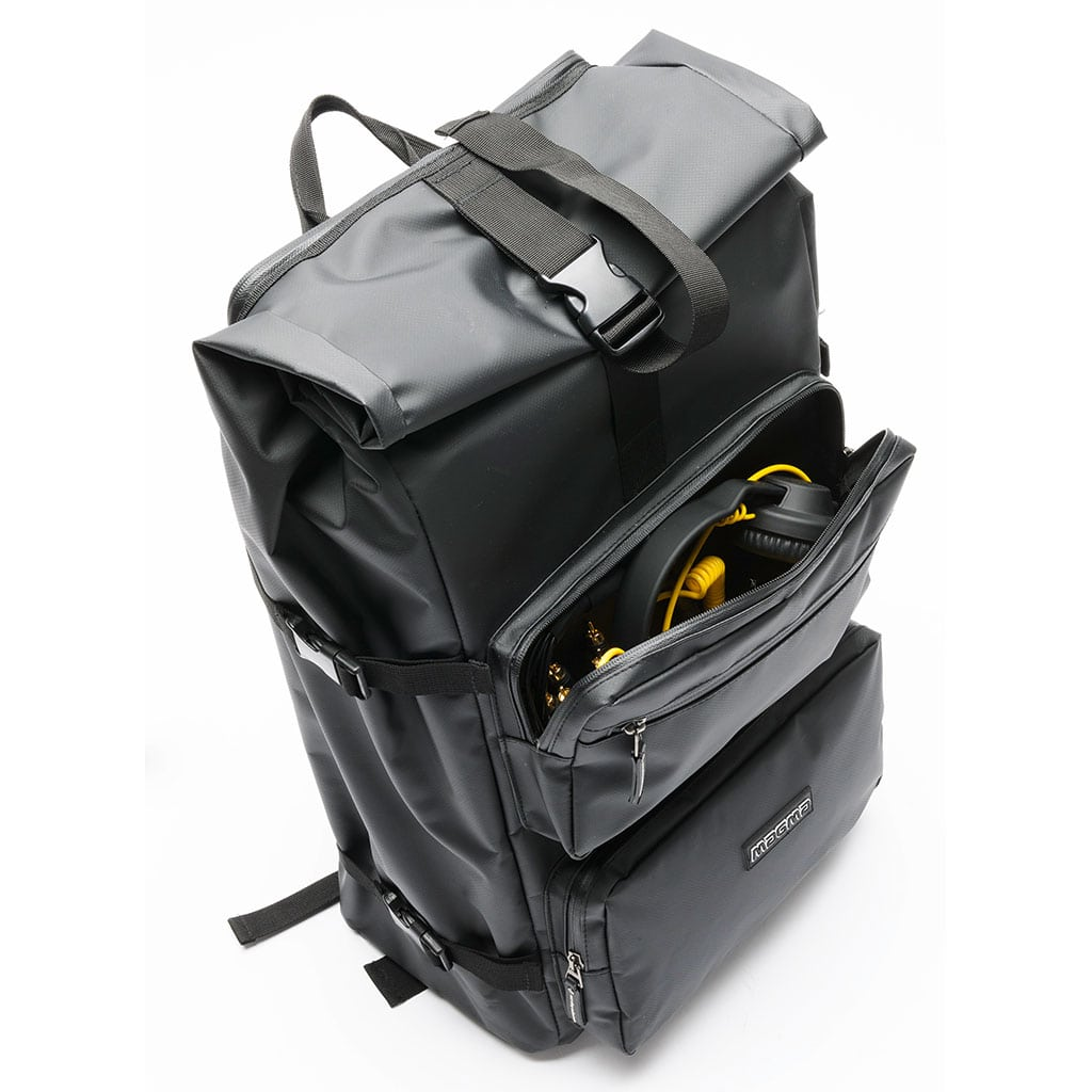 Magma Rolltop Backpack Front Pocket