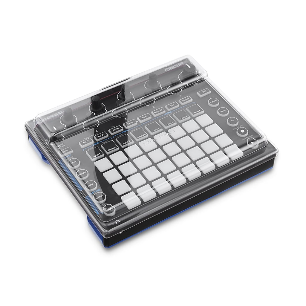 Decksaver Novation Circuit Cover Angled