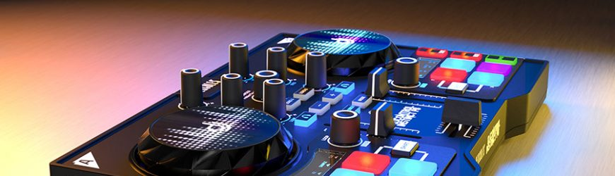 Boost your DJ Performing Instincts with the Hercules DJControl Instinct P8!