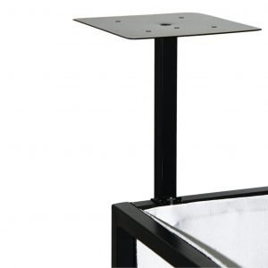 Novopro SDX Booth Podium Shelves (Black)