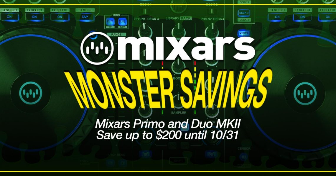 Mixars Monster BLog Post Banner