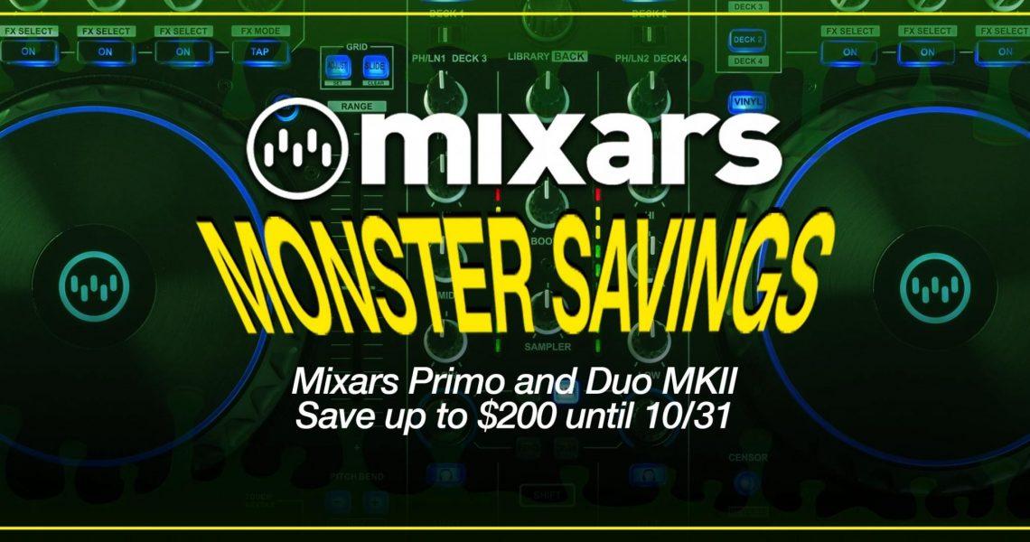 Mixars Monster BLog Post Banner