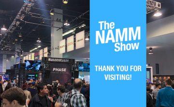 NAMM 2020 Thumbnail Blog
