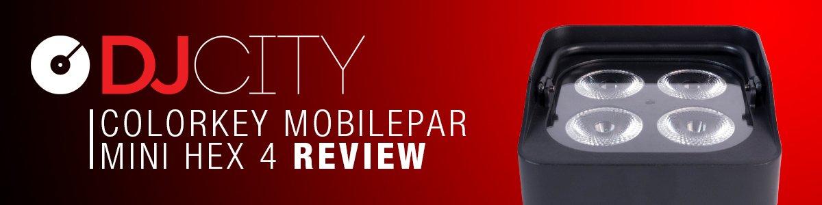 colorkey mobilepar mini hex 4 djcity review