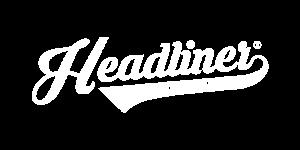 Headliner Logo White Transparent