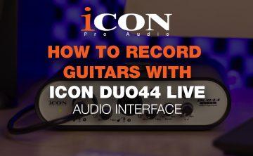 Icon Duo44 Live Audio Interface Blog Thumbnail